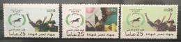 HXSU1 - Sudan 2017 Complete Set 3v. MNH - Popular Army, Jihad Victory Martyrium, Soldiers - Sudan (1954-...)