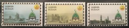 HXSU1 - Sudan 2017 Complete Set 3v. MNH - City Of Sinnar, The Islamic Culture Capital, Mosque - Sudan (1954-...)