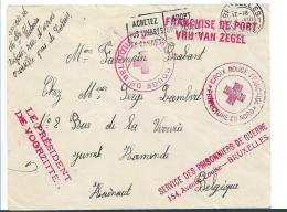 B387 / Belgisches Rotes Kreuz 1940 Im Dienste Der Kriegsgefangenen - Belgien