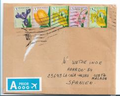 B386 / Blumenfrankatur  2018 - Briefe U. Dokumente
