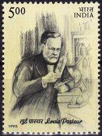 India 1995 Stamps Louis Pasteur Microbiologist Medicine Rabbies MNH - Louis Pasteur