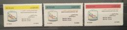 HXSU1 - Sudan 2017 Complete Set 3v. MNH - World Statistic Day, Better Data, Better Life - Dated 2015 - Sudan (1954-...)