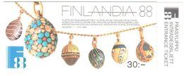 Finland Booklet 1988 Nsc ** 25 Euros - Finlandia