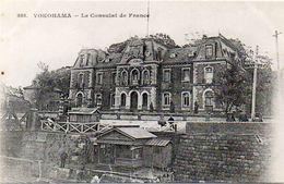 YOKOHAMA - Le Consulat De France  - Messageries Maritimes    (102729) - Yokohama