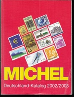 CATALOGO MICHEL - GERMANIA - EDIZIONE A COLORI 2002/2003 - USATO OTTIMO STATO - Germania