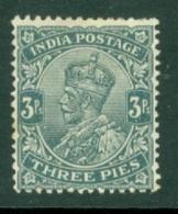 India: 1926/33   KGV      SG201    3p   MH - India (...-1947)