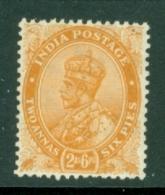 India: 1926/33   KGV      SG207    2a 6p     MH - India (...-1947)