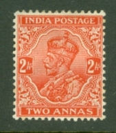India: 1932/36   KGV      SG236b    2a   MH - India (...-1947)