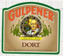 NETHERLANDS - Gulpener,Gulpen - Beer Label - 001.094 - Bier