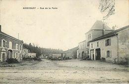 88 :Girecourt : Rue De La Poste - Sonstige Gemeinden