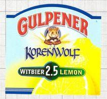 NETHERLANDS - Gulpener,Gulpen - Beer Label - 001.100 - Bier