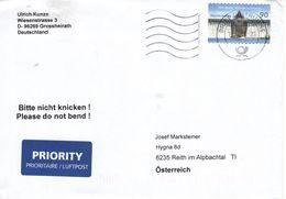 Auslands - Brief Von Briefzentrum 96 Grossheirath Mit 90 Cent 2018 - BRD