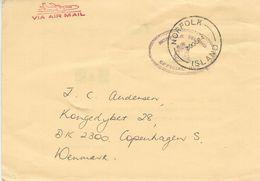 Norfolk Island. Card Sent To Denmark 1984.     H-1296 - Norfolk Island