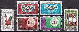 Algeria MNH 6 Commemorative Stamps From 1965 - Algeria (1962-...)