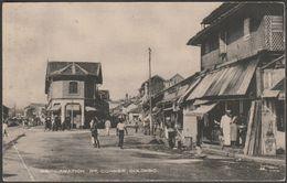Reclamation Road Corner, Colombo, Ceylon, C.1910 - Wijayaratna Postcard - Sri Lanka (Ceylon)
