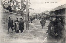KOBE - Une Rue   - Messageries Maritimes    (102746) - Kobe