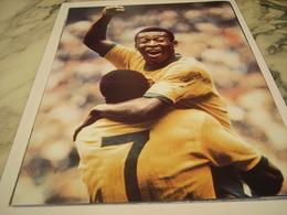 PHOTOGRAPHIE PELE COUPE DU MONDE MEXIQUE 1970 - Football