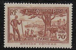 COTE D'IVOIRE 1940 YT 155** MNH - Côte-d'Ivoire (1892-1944)