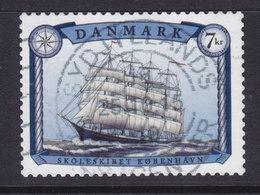 "Denmark 2015 Mi. ????  7.00 Kr School Sailing Ships Schiffe Kompas Skoleskib ""København"" Deluxe Cancel !! - Dänemark"