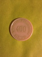 TOKEN JETON GETTONE SUPERMERCATO COOPERATIVA TORINESE 400 LIRE SPECIALITA' AMARO A.C.T. - Monetary/Of Necessity