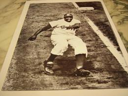 PHOTOGRAPHIE JACKIE ROBINSON LES WORLD SERIES 1955 - Baseball