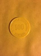 TOKEN JETON GETTONE SUPERMERCATO COOPERATIVA TORINESE 500 LIRE SOLO PRODOTTI GENUINI - Monetari/ Di Necessità