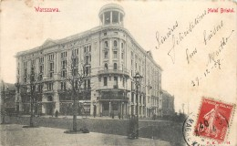 Poland - Warszawa - Hotel Bristol - Pologne