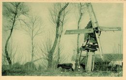 CPA 85 Moulin Servant à Broyer Les Fèves - France