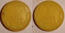 TOKEN JETON GETTONE SUPERMERCATO COOPERATIVA ESSE LUNGA 10 LIRE - Monetary/Of Necessity