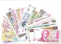 Lot Of 20 Pcs Banknotes World - All Different - Only Unc - Billets