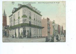 Blankenberghe - Blankenberge - Hôtel De L' Esperance Eigenaar O. Trogh - Geanimeerd - Gekleurde Kaart ( Feldpost ) - Blankenberge