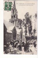 Trefflez - Le Clocher De L'Eglise, La Bénédiction Le Jour Du Pardon / Editions Villard N°5311 - France