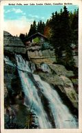 Bridal Falls Near Lake Louise Chalet, Canadian Rockies - Lac Louise