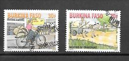 TIMBRE OBLITERE DU BURKINA DE 2010 N° MICHEL 1935/36 - Burkina Faso (1984-...)