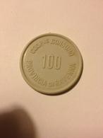 TOKEN JETON GETTONE SUPERMERCATO COOPERATIVA CONSUMO RAVENNA 100 LIRE - Notgeld