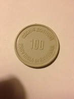 TOKEN JETON GETTONE SUPERMERCATO COOPERATIVA CONSUMO RAVENNA 100 LIRE - Monétaires/De Nécessité