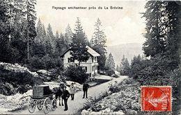 25 FRONTIERE FRANCO-SUISSE - LA BREVINE - PAYS ENCHANTEUR - Autres Communes