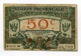 50 Cts   Chambre Des Commerces De Marseille Région Provencale - Chambre De Commerce