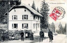 25 FRONTIERE FRANCO-SUISSE - LA BREVINE - A L'ECRENAZ - Autres Communes