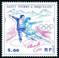 ST-PIERRE ET MIQUELON 1992 - Yv. 559 **   Faciale= 0,76 EUR - JO Albertville : Patinage  ..Réf.SPM11356 - Neufs
