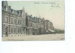 Arlon Place De La Station ( Duparque Florenville - Carte Couleur ) - Arlon