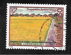 TIMBRE OBLITERE DU BURKINA DE 2003 N° MICHEL 1855 - Burkina Faso (1984-...)
