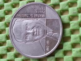 Mikhail Sergeyevich Gorbachev, Peace 1990 - STOP CHILDEXPLOITATION   -Commemorative Tokens - Entriegelungschips Und Medaillen
