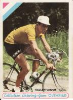 Cyclisme, Hassenforder, Collection Chewing - Gum Olympiad,  2 Scans, Lire Description - Radsport
