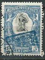 Haiti  -  Yvert N° 79 A  Oblitéré   ( DENT  Irregulière Ds L'angle En Bas )   -  Cw31816 - Haïti