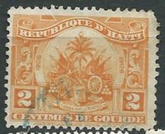 Haiti  -  Yvert N° 134 Oblitéré    -  Cw31819 - Haiti