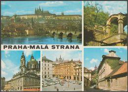 Multiview, Praha-Malá Strana, C.1970s - Pressfoto Dopisnice - Czech Republic