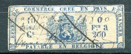 BELGIQUE - Fiscaux - Effet De Commerce Annulé En 1860 - Fiscales