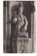 Statue De Saint Eloi - Gouezec, Les Offrandes Qu'on Lui Apporte Consistent Surtout En Queue De Chevaux /maréchal Ferrant - Gouézec
