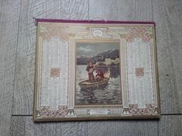 Calendrier Almanach Des Postes Des Télégraphes 1914  La Sérénade - Calendars